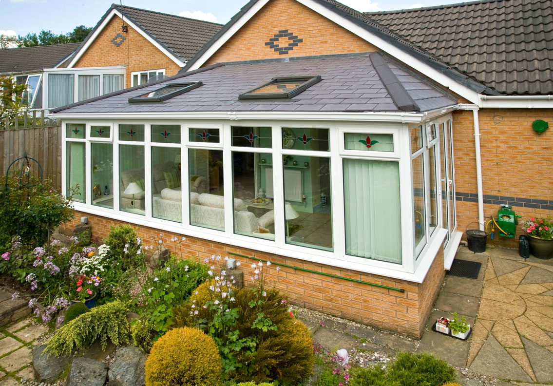 Hipped Conservatory Lean To Roof Quick Kit Build