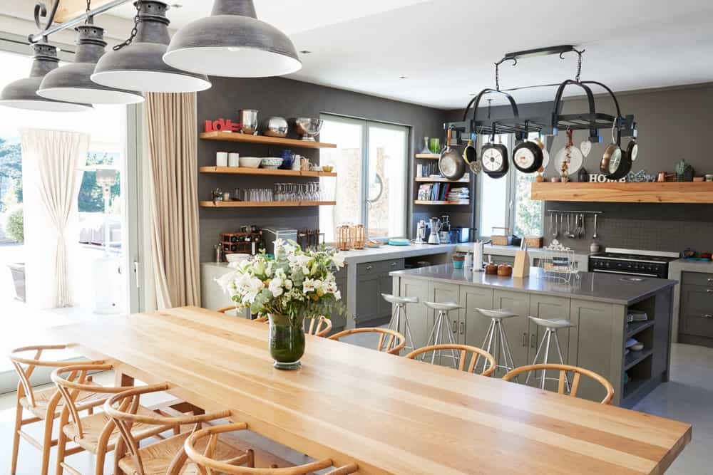 country style kitchen extension
