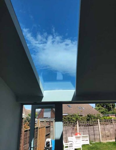 home extension roof window